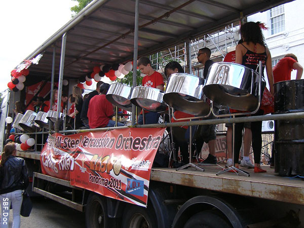 Steel Pan Truckin' at Notting Hill