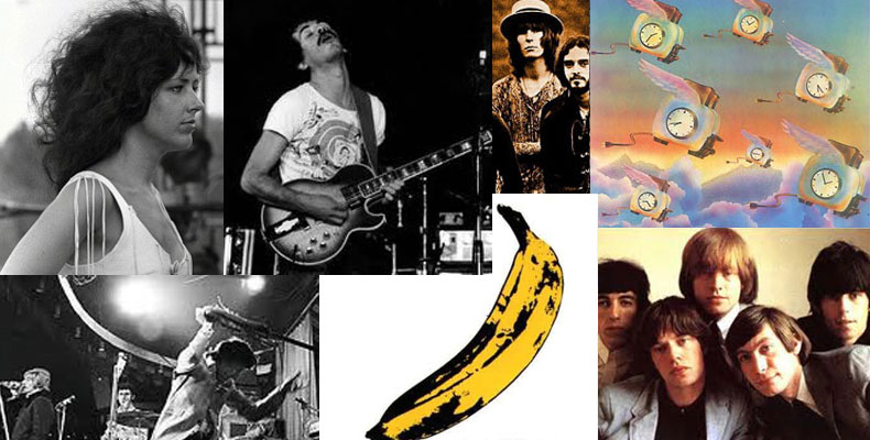 The 10 Most Influential Rock Group/Musicians in the 60's