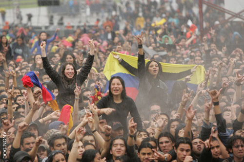 Rock al Parque, one of the most important Rock Festival in Latin America (ANON.)