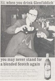 Single Malt Whisky Glenfiddich Campaign