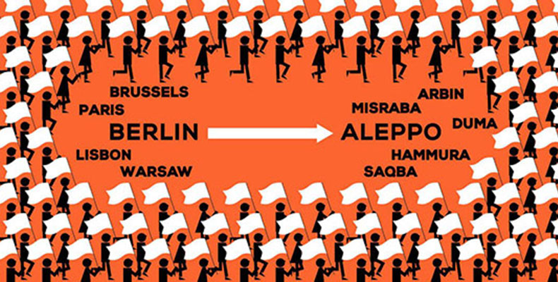 Civil March to end Human Tragedy in Aleppo