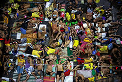 People at jail in Philippines
