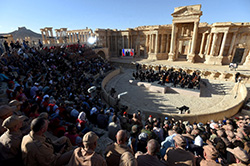 Russian Orchestra at Palmyra