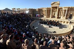 Russian Orchestra at Palmyra