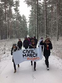 Civil March for Aleppo