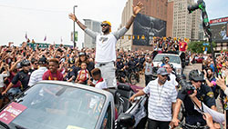 Cavaliers gave Cleveland its first championship after 52 years