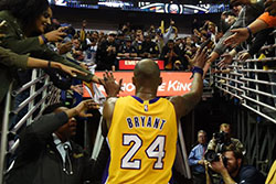 Kobe Bryant's last game