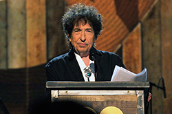 Bob Dylan received the debated Nobel Prize for literature