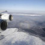 Ice Crack in the Antarctic
