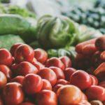 Food grown in waste water