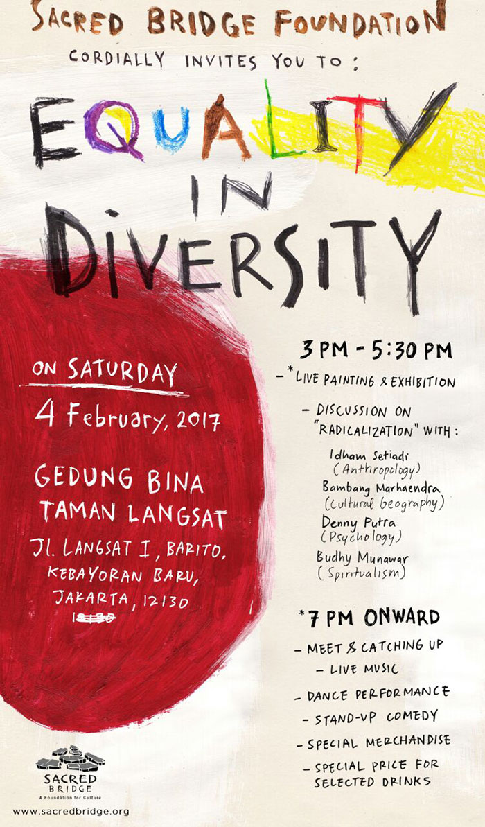 Poster Equality in Diversity