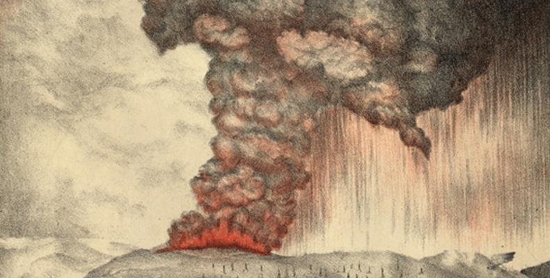 The Krakatoa Sunsets