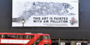 Recycling Air Pollution to Make Art