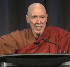Venerable Bhikkhu Bodhi presents moral vision in age of crisis