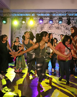 "Namarina Youth Dance ""SoulSphere of Jakarta"": The 360° Art performance"