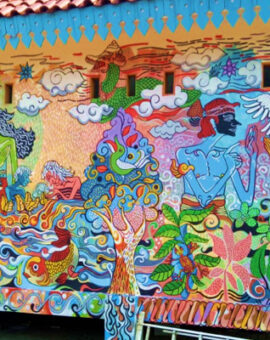 """Symbols and Visual Meanings on """"Respect Each Other, Care the Environment"""" Murals"""